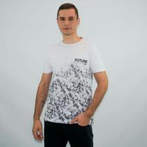 Camiseta masculina gola redonda future - Kohmar