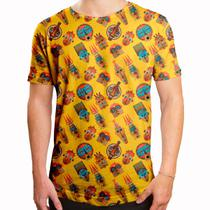 Camiseta Masculina Longline Swag Tribos Africanas - Over fame