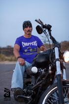 Camiseta masculina moto chopper - Daruma Camisetas