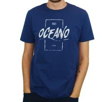 Camiseta masculina oceano collor -