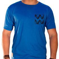 Camiseta masculina sandro clothing rhys azul blue - Sandro moscoloni