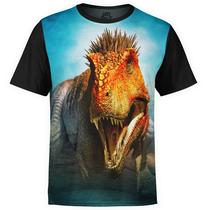Camiseta masculina Sci-fi T-Rex Estampa digital Md03 - Over fame
