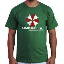 Camiseta Masculina Umbrela Corp Blusa Camisa Resident Evil - Atelier Do Silk