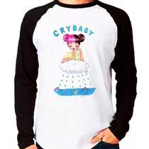 Camiseta Melanie Martinez Cry Baby Raglan Manga Longa - Eanime