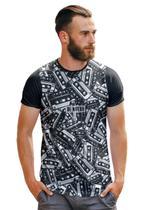 Camiseta Mini Fitas Cassestes Full Print Retrô - Di Nuevo