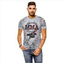 Camiseta MMA Brazilian Pride Masculina GY - 429K