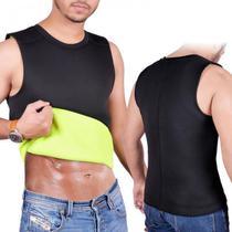 Camiseta Modeladora Queima Caloria Reduz Medidas Masculina Ação Térmica Redutora Comprimi - Suyts
