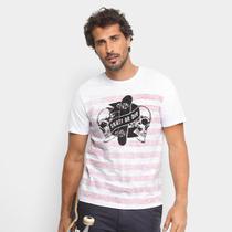 Camiseta Mood Striped Skull Masculina -