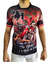 Camiseta Motos 244 Não É Crime CG 160 Gola Padre Manga curta - Innove Sports