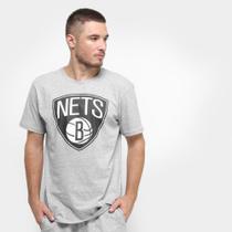 Camiseta NBA Brooklyn Nets Big Logo Masculina -