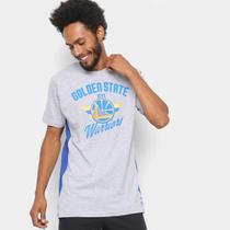 8f30885dcf3c3 Camiseta NBA Golden State Warriors Side Cut Masculina