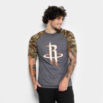 Camiseta NBA Houston Rockets ESP Militar Masculina -