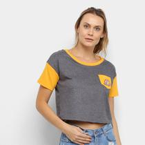 Camiseta NBA Los Angeles Lakers Cropped Feminina -