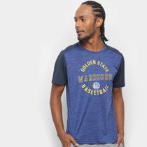 Camiseta NBA Warriors Fio Tinto Mesh 17 Masculina -