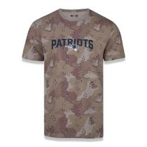 Camiseta NFL New England Patriots New Era Desert Full Masculina -