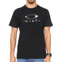 Camiseta Oakley Patch 2.0 Preta -