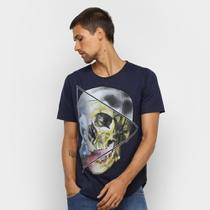 Camiseta OTN Caveira Manga Curta Masculina -