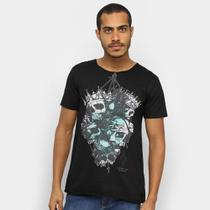 Camiseta OTN Caveira Masculina -