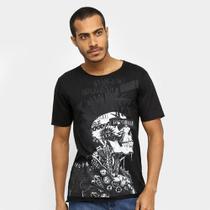 Camiseta OTN Caveira Punk Masculina -
