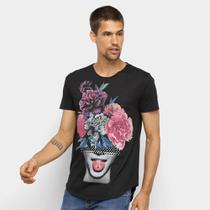 Camiseta OTN Estampada Manga Curta Masculina -