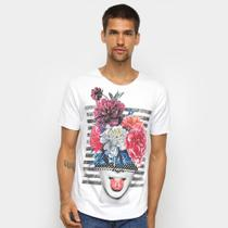 Camiseta OTN Flores Masculina -