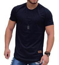 Camiseta Oversized Longline Blusa Camisa Masculina Swag Básica KS -