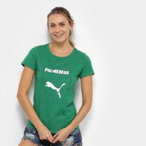Camiseta Palmeiras Graphic Puma Feminina -