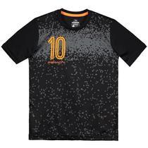 Camiseta Penalty Freestyle Urbano Juvenil Preto/Laranja -