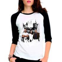 Camiseta Prison Break Scofield Raglan Babylook 3/4 - Eanime