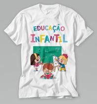 Camiseta Professor educação infantil blusa personalizada - Vidape