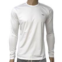 84cedffdb Camiseta Proteção Solar UV DRY FPS 50+ Manga Longa Masculina Gelo - Mprotect