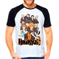 Camiseta Raglan Anime Haikyuu!! 2 Shoyo Hinata Volleyball - Eanime