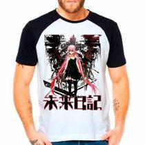 Camiseta Raglan Anime Mirai Nikki Yuno Gasai - Eanime