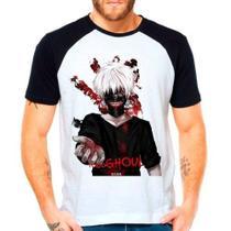 Camiseta Raglan Anime Tokyo Ghoul Kaneki Ken Terror - Eanime