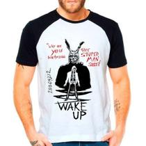 Camiseta Raglan Filme Donnie Darko Wake Up - Eanime