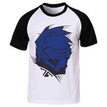 Camiseta Raglan Game Overwatch Personagem Soldier 76 - Eanime
