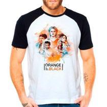 Camiseta Raglan Série Orange Is The New Black Oitnb - Eanime