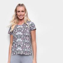 Camiseta Rainha Básica Mini Logo Feminina -