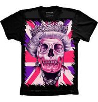 Camiseta Rainha Caveira - Camisetas 4Fun