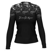 Camiseta Rash Guard Jiu Jitsu Femi Térmica Uv ATL - Atlética Esportes