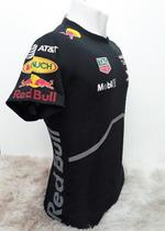 Camiseta Red Bull Racing Formula One Aston Martin Manga Curta Preto Azul Branco RB2
