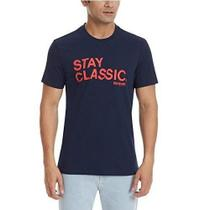 Camiseta Reebok Stay Classic Estilo Retrô Urban Wear Br8600 -