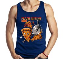 Camiseta Regata Geek Pizza Filme Terror Fast Food Divertida - Dragon Store