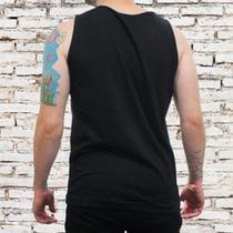 Camiseta Regata Masculina Algodão Estampa Surf -