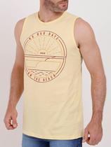 Camiseta Regata Masculina Amarelo - Fico