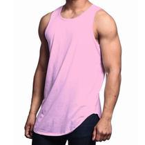 Camiseta Regata Masculina C80 - Regata Longline Vcstilo -