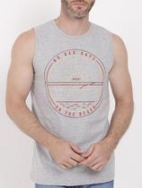 Camiseta Regata Masculina Cinza - Fico