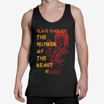 Camiseta Regata Masculina  - Iron Maiden The Number of the Beast - Snap way