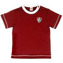 Camiseta revedor fluminense cores clube menino grená -