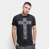 Camiseta Rukes Cruz Masculina -